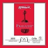 Cuerda individual Sol para violonchelo Prelude de D'Addario, escala 1/2, tensión media....