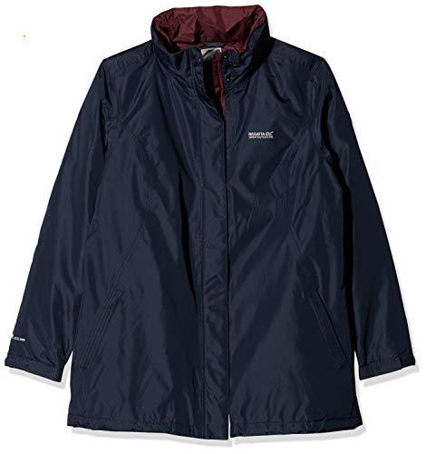 Regatta Blanchet II Waterproof and Thermoguard Insulated Jacket Femme, Bleu Marine, Size 8 (Size:XXS)