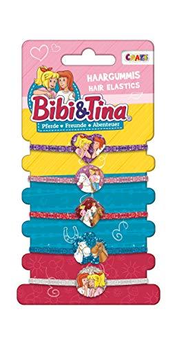 Craze Bibi & Tina Haargummis BIBI UND Tina Haarschmuck Kinderschmuck Mehrfarbig Mädchenschmuck 14752, Mega Trend