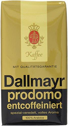 Dallmayr prodomo entcoffeiniert gemahlen, 500 g