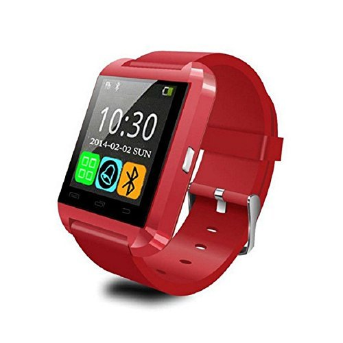 Bluetooth Smart Watch Handy Smartwatch für Samsung Huawei Sony LG Android Smartphones
