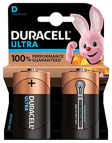 Duracell D Batteria, confezione da 2