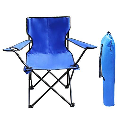 Amosiwallart Silla de Camping Plegable Ligera y Resistente, Adecuada para Senderismo, Pesca, Barbacoa, Picnic, Resistencia a caídas,