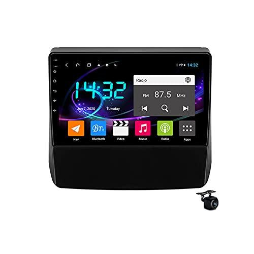Coche estéreo Android 10.0 Radio SAT NAV para Forester 2018-2021 GPS Navigation 9 '' Pantalla táctil IPS 2 DIN Multimedia Video Player FM Receptor con 4G 5G WIFI SWC Carplay,M600s