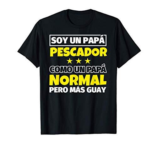 Hombre Pescador Papá Regalo Camiseta
