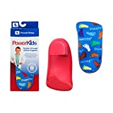 Powerstep boys Powerkids Shoe Insoles, Blue, Youth Size 1.5-2.5 US