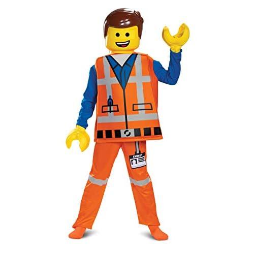 LEGO DISK26853K Ninjago Movie Costume da ragazzo Emmet, M