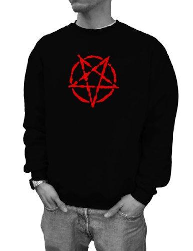 WIZUALS Pentagram drudenvoet Gothic Wave Dark Designer trui