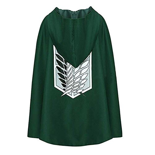Moda Anime no Kyojin Capa Capa Ropa Cosplay Disfraz Fantasia Attack on Titan PluS