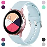 GEAK for Samsung Galaxy Watch Active 2 Bands 40mm/44mm,20mm Soft...