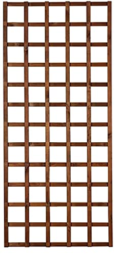 Griglia in legno per esterno Hortus color castagno 90 x 180 cm