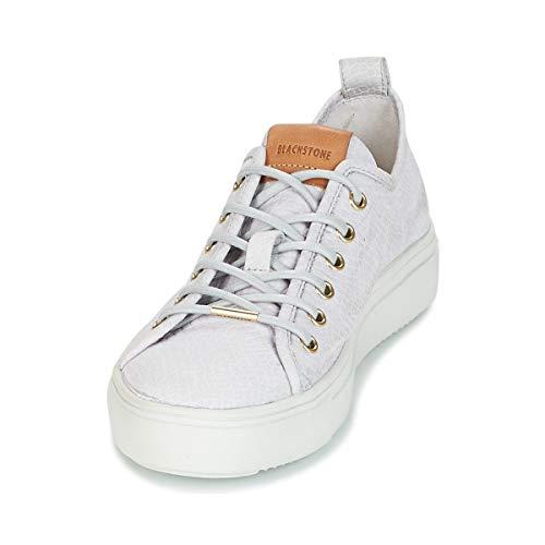 Blackstone PL90 Sneaker Damen Grau - 40 - Sneaker Low