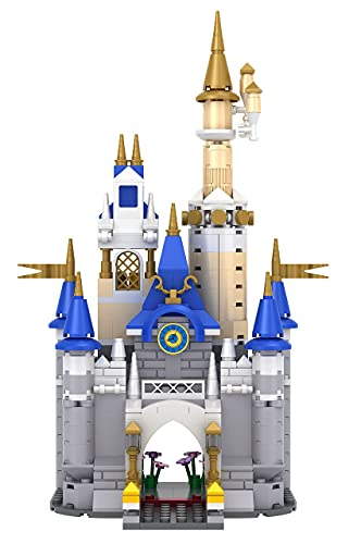 Brick Loot Enchanted Dream Fairy Princess Castle for Girls and Boys - Educational Construction Play Set STEM Toys - Compatible with LEGO and Major Building Block Brands - 413 PCS