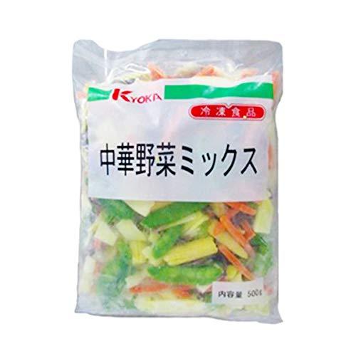 【冷凍】京果食品 中華野菜ミックス 500g 業務用 カット野菜