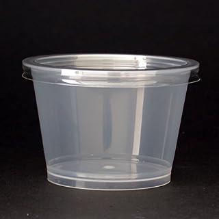 プラスチックプリンカップふた付90ml / 50個 TOMIZ/cuoca(富澤商店)