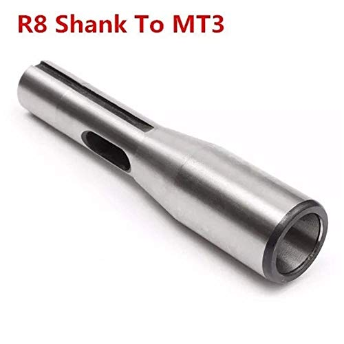 Why Choose ZGQA-GQA R8 Shank to MT3 R8 Drill Chuck Arbor Morse Taper Adapter Sleeve CNC Tool Lathe A...