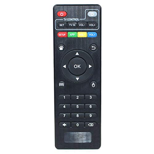 Binghotfire Universal Practical T95M T95N MXQ MXQ-Pro Set-Top Box TV Box Control Remoto Negro