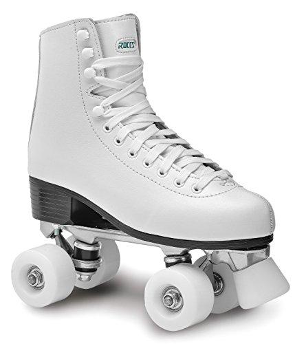 Roces Unisex-Erwachsene RC2 Classicroller Rollerskates/Rollschuhe Artistic, Weiß (White/001), 38 EU