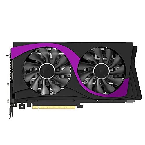 MPGIO Fit for Yeston Radeon RX5600XT GPU 6G / 128Bit / GDDR6 / 7Nm PCI Express 4.0 Tarjeta gráfica para Juegos HDMI + DP + DVI-D * 2 Navi 10 / 7Nm