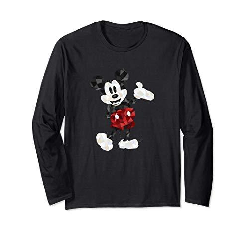 Disney Mickey Mouse Geometic Body Foot Pop Hand Out Manga Larga