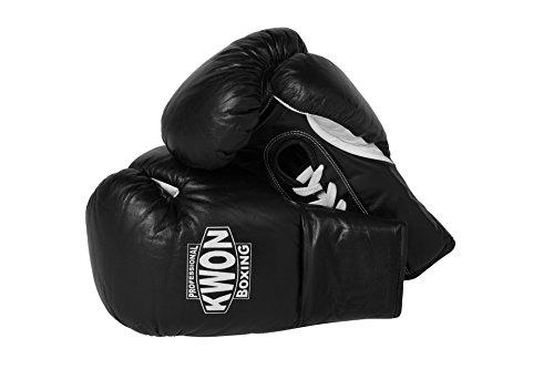 Kwon Boxhandschuhe mit Schnürung rot-schwarz