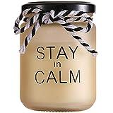 YWZQ Las Velas perfumadas, Regalo del día de Inicio de la Vela de aromaterapia Decoración de Soja Natural Cera Esmerilado Serigrafía Fragancia Velas de Cristal Copa de San Valentín,Naranja