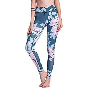Printed Yoga Pants Ms Tight High Elasticity Trousers Sexy Hip Fitness Clothing Pilates Run Sports Trousers,XL:Netac2