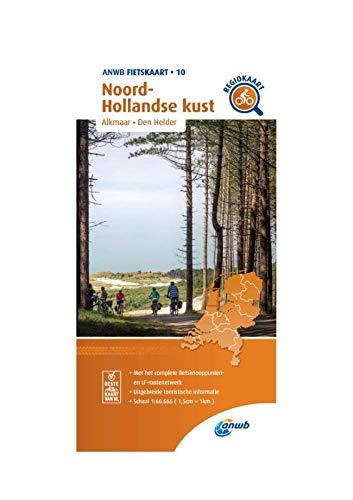 Fietskaart Noord-Hollandse kust 1:66.666: Alkmaar, Den Helder