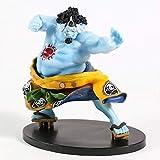 Yangzou One Piece Jinbei Jinbe Banpresto World Figure Colosseum Bwfc 2 Figurine Figure Toy Family Decorazioni per Auto Ornamenti Collezionabili 15 Cm