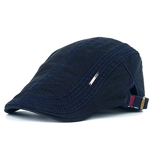 Adantico Unisex de la Boina Sombrero (Azul)