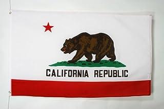 comprar comparacion AZ FLAG Bandera de California 150x90cm - Bandera Americana DE California - EE.UU 90 x 150 cm