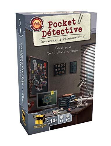 Pocket Detective Case 1 Season 1 Juegos de Cartas, edición Inglés