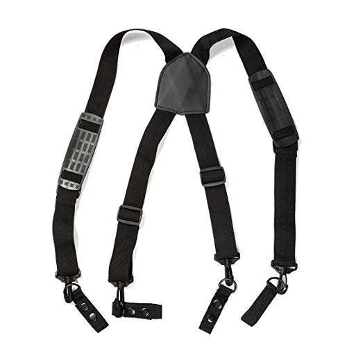 Best Price Eohak Tactical Duty-Belt-Harness-Suspenders-Work Men Tool Belt Military Adjustable