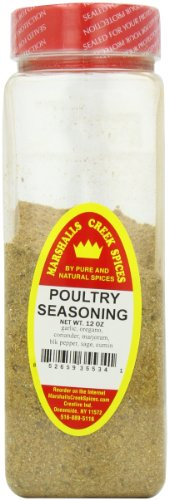 Marshall's Creek Spices Poultry Seasoning, No Salt Season, 12 Ounce