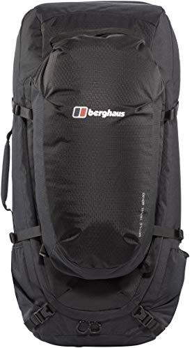 Berghaus Motive Travel 60 + 20 Litre Rucksack, Black, One Size