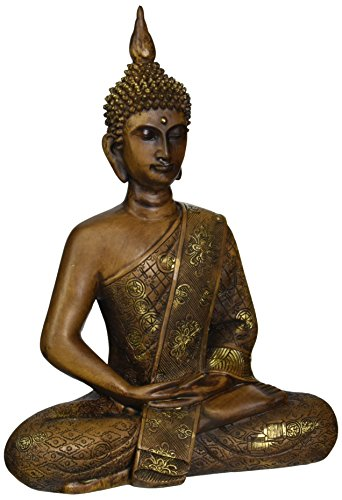 Oriental Furniture 11' Thai Sitting Buddha Statue