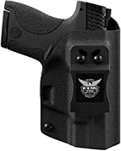 We The People Holsters - Black Right Hand Inside Waistband Concealed Carry Kydex IWB Holster Compatible with Sig Sauer P320SC / P250SC SubCompact Gun