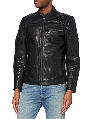 Pepe Jeans Donnie Chaqueta, 999black, XL para Hombre