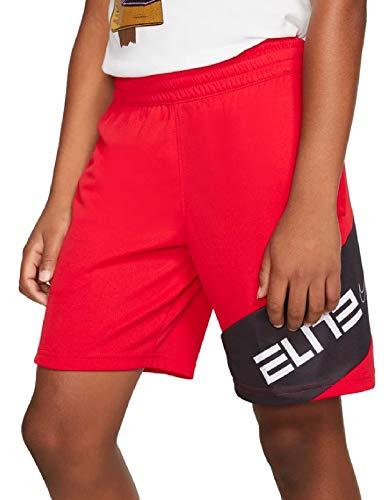 Nike Jungen CJ8068-657 Basketball-Shorts, University Red/Black/White, Large