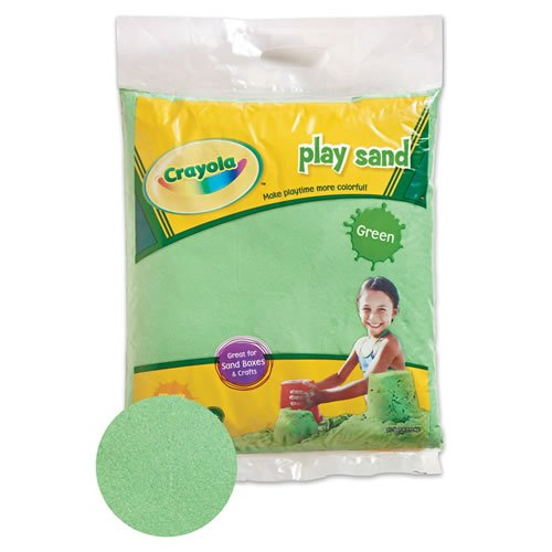 Crayola Colored Play Sand Green