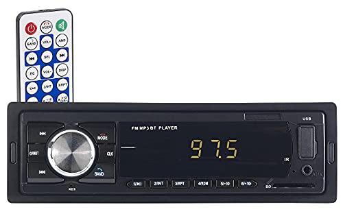 PEARL USB Radio: MP3-Autoradio mit Bluetooth, Freisprech-Funktion, USB & SD, 4X 45 Watt (Autoradios, Bluetooth)