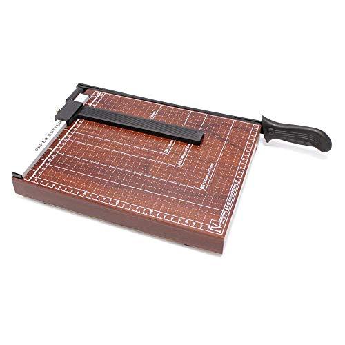 PrimeMatik - Cizalla de Palanca para Corte de Papel A4 30x25cm