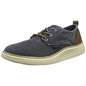 Skechers Men's Status 2.0-Pexton Canvas Oxford
