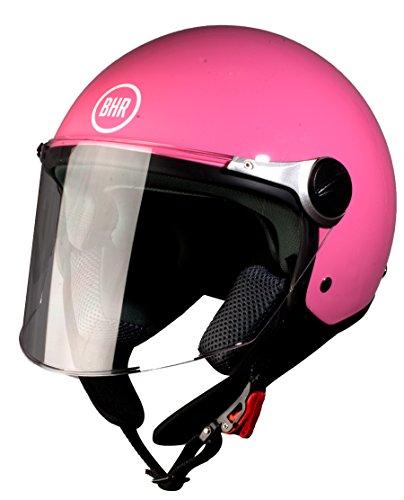 BHR Motorradhelm, Demi-Jet, Modell 710 55/56 pink metallic