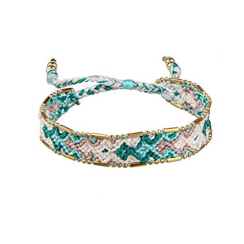C·QUAN CHI Mélange Couleur Bracelet Tressé À La Main Fantaisie Design Graine Perlé Bracelets Femmes Bohème Bijoux De Mode