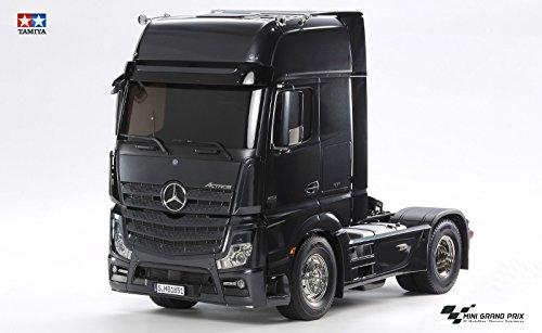 TAMIYA 56342 - 1:14 RC Mer.Benz Actros 2 Giga, Fahrzeug, schwarz