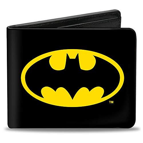 Buckle-Down  Batman Black/Yellow Wallet