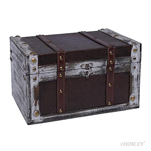 Hosley Decorative Storage Box 11 Inch Long. Ideal Gift for Study Den Memories Dorm Home Weddings Spa Reiki Meditation O4