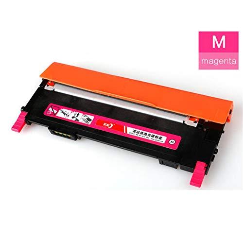 HLDC voor Samsung K406S Toner Box, Compatibel met Samsung CLP-360 365W CLX-3305 3306FN Toner Cartridge Zwart Rood Blauw Geel 1500 pagina's size Rood