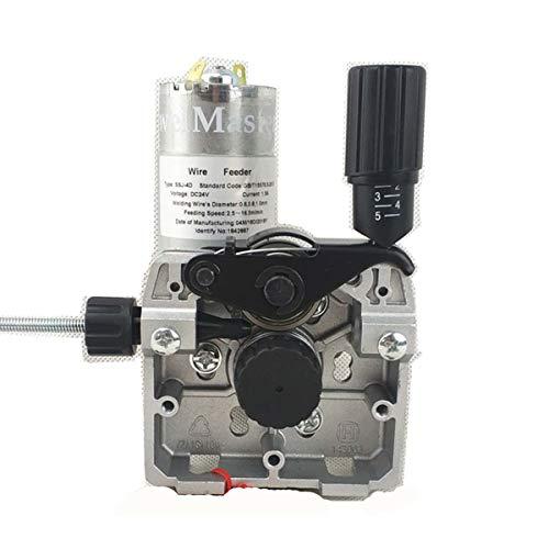 Wire Feeder 24V 25W, Schweißen Drahtvorschub Montage 0,8–1,0mm/.03-.04 (detault) Draht Feeder von MIG/MAG Schweißen, ssj-4d